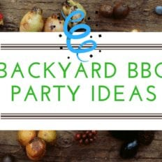 Richard's Backyard BBQ Party Ideas