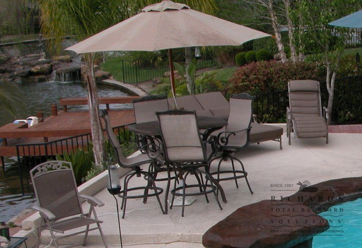 Houston Outdoor Living Gallery | Home | Richard's Total ...