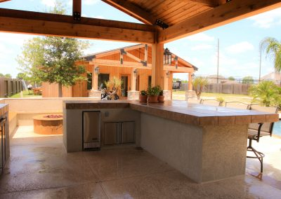Houston Outdoor Kitchen Gallery Home Richard S Total Backyard