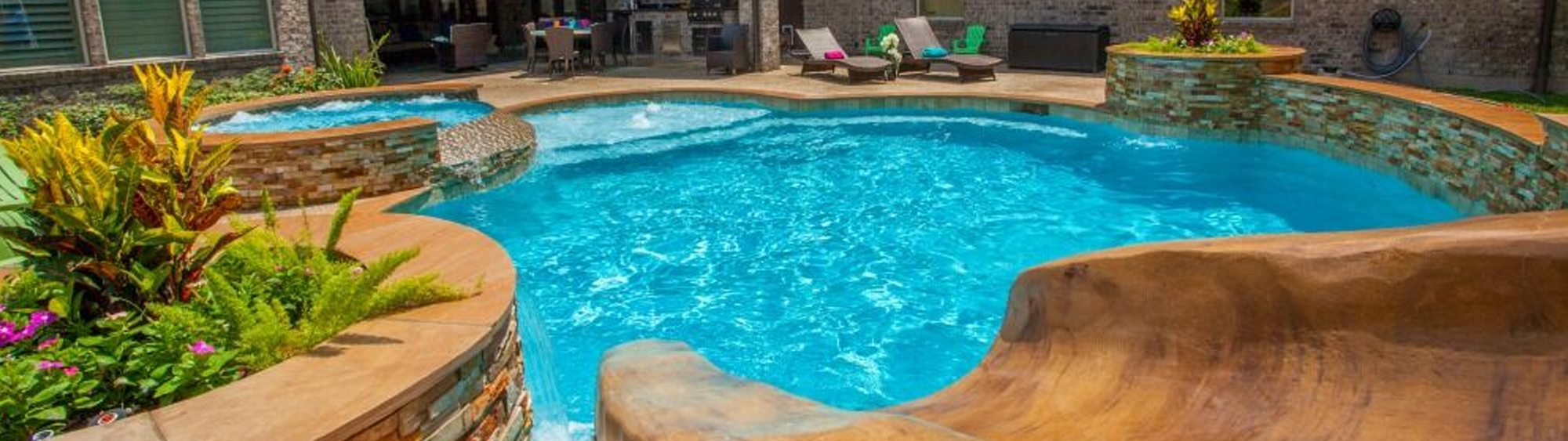 Custom swimming pools houston home richard 39 s total backyard solutions for Swimming pool refurbishment costs