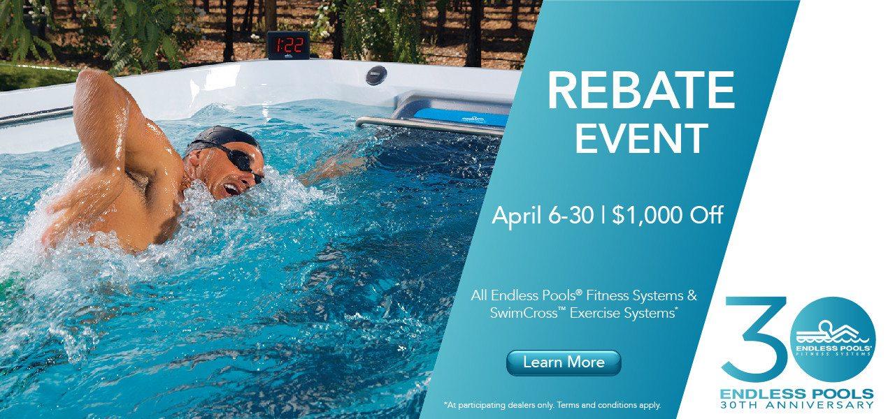 Swim Spa Rebate Event | Home | Richard\'s Total Backyard ...