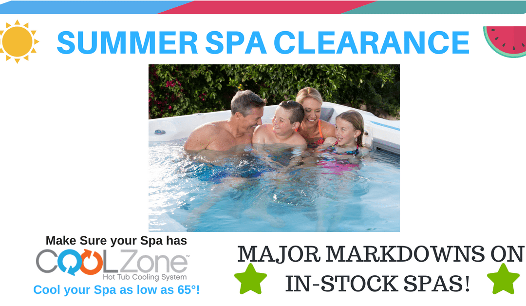 Summer Hot Tub Inventory Sale!