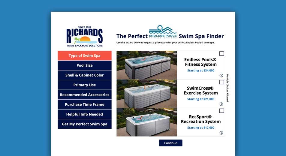 Endless Pools ® Swim Spa