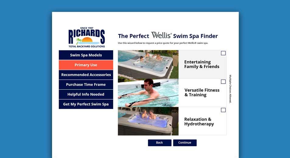 Wellis® Swim Spa